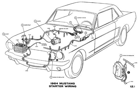ford mustang starter solenoid wiring diagram ford free