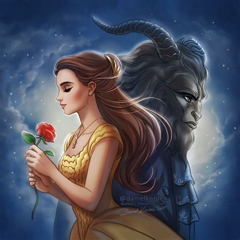 beauty and the beast beauty and the beast 2017 by daekazu on deviantart