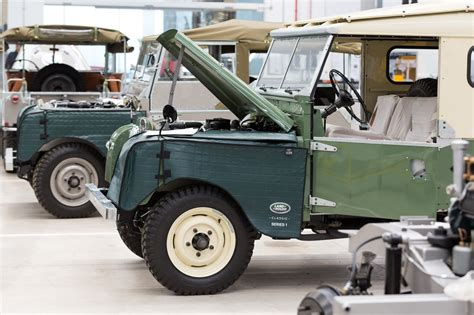 land rover agents time travel agents jaguar land rover s new classic works