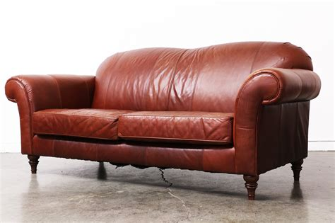 Broyhill Leather Sofa Vintage Broyhill Leather Sofa Vintage Supply Store