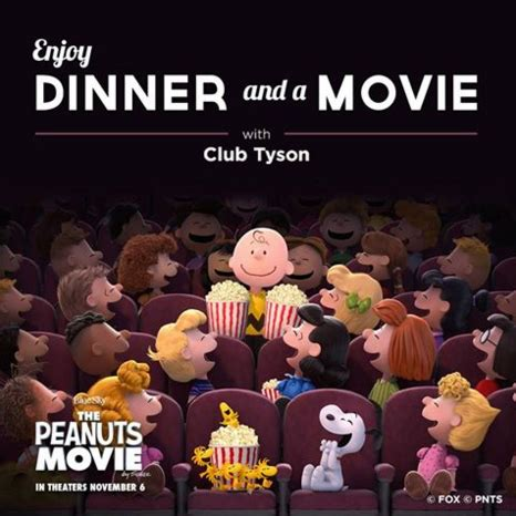 Movie Sweepstakes - the club tyson peanuts movie sweepstakes