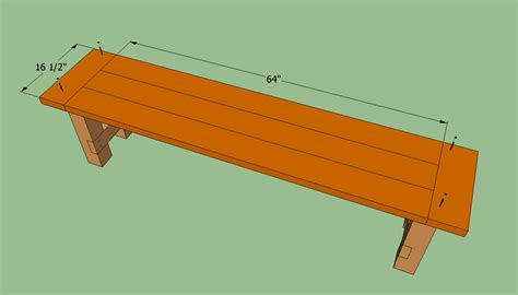 building the bench how to build a farmhouse bench howtospecialist how to build step by step diy plans