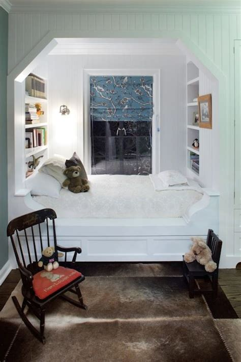 adorable cozy alcove bed built ins p design room