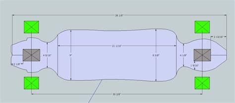 Drop Through Longboard Template Www Pixshark Com Images Galleries With A Bite Longboard Designs Template