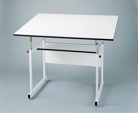 Alvin Drafting Table Workmaster White Base 36x48 Alvin Alvin Workmaster Drafting Table