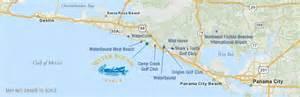 watersound florida map watersound regional map florida real estate land