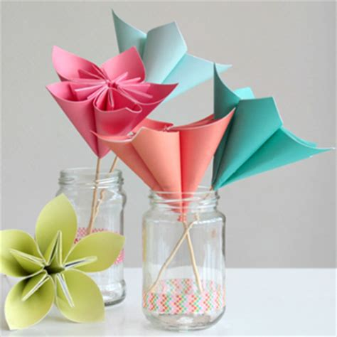 How To Make Bouquet Of Paper Flowers - 3 paper crafts for the weekend envato tuts crafts