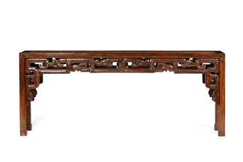 console in legno console in legno di olmo con intagli cina dinastia qing