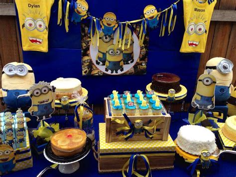 Minions Baby S Er Party  Ee  Ideas Ee   Of  Catch