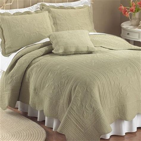 sage coverlet details about country cottage solid sage green matelasse
