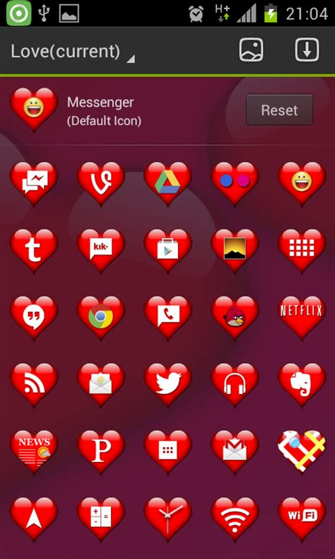 love themes launcher love theme go launcher android apps on google play