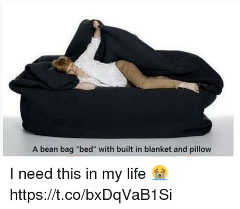 bean bag bed with built in blanket a bean bag bed with built in blanket and pillow i need