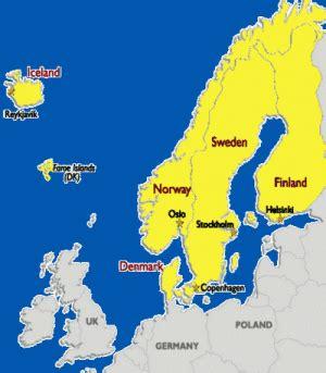 Scandinavian The Countries Of Scandinavia