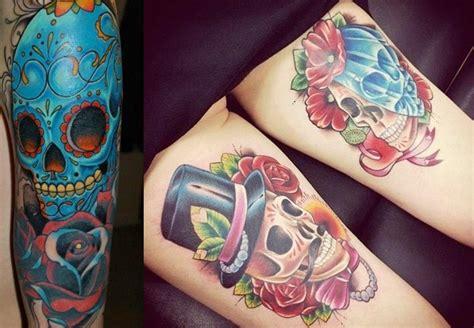 imagenes tatuajes calaveras mexicanas tatuajes de calaveras y craneos dise 241 os y significados