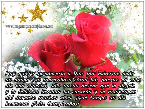 imagenes de cumpleaños con mensajes bonitos flores con bonitos mensajes de cumplea 241 os ツ imagenes