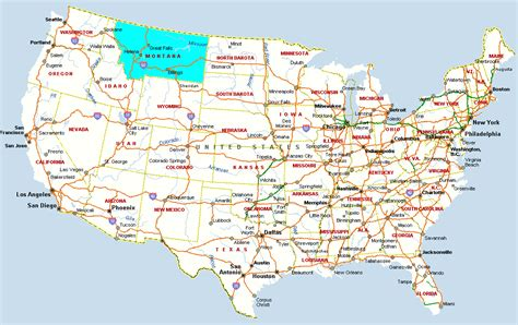 billings montana on map of usa montana map stock photo image 30137590 showy billings on