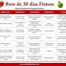 plan nutricional  bajar de peso segunda semana en  te  bajar de peso comida