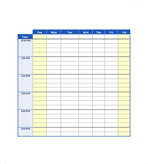 agenda layout excel 10 daily agenda templates free sle exle format