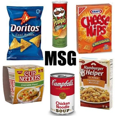 worst foods msg the silent killer
