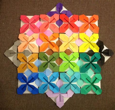 origami quilt 17 best images about paper quilts on the cross