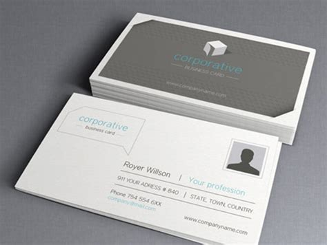 20 Free Photoshop Business Card Templates Free Card Templates For Photoshop