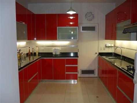 imagenes de cocinas integrales rojas cocinas integrales color rojas imagui