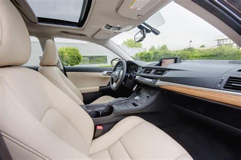 lexus hybrid ct200h interior 2011 lexus ct 200h light interior and seating position