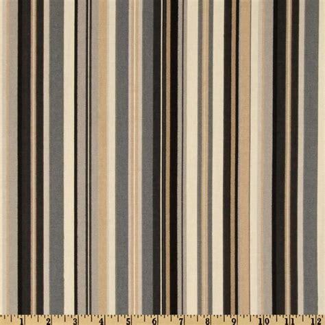 Livingroom Windows Waverly Beach Umbrella Stripe Panther Tan And Black