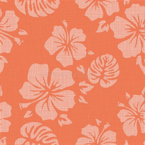 hawaiian shirt pattern royalty free faux linen hawaiian background pattern stock vector