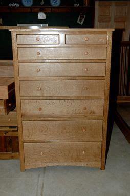 custom quartersawn oak mens dresser  wooden   nice