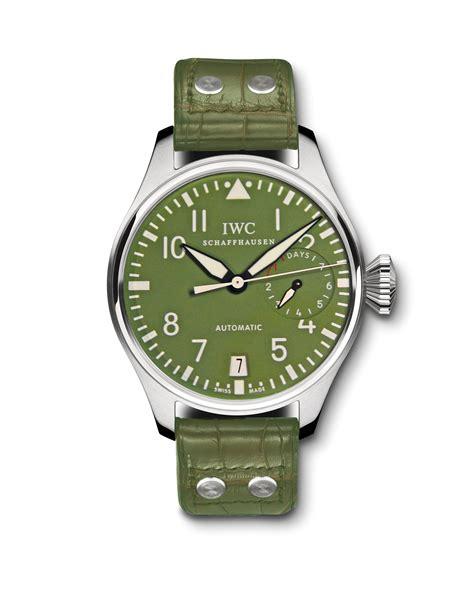 Iwc Scaffhausen Green iw500407 zegg cerlati green iwc big pilot