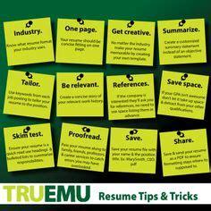 Resume Tips Tricks Heatlie Melissaheatlie On