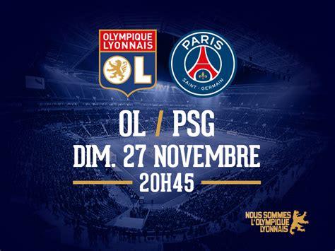 Calendrier Ligue 1 Ol Ligue 1 Ol Psg Parc Olympique Lyonnais
