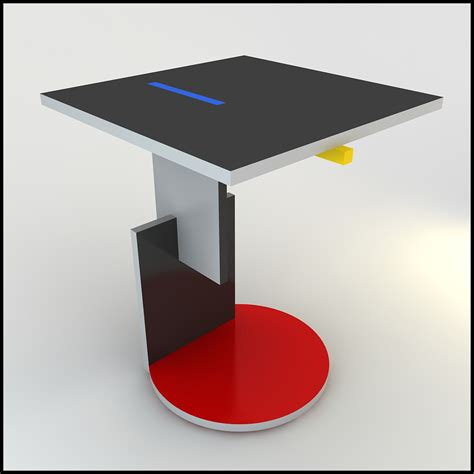 Buying A Couch gerrit rietveld schroeder table 3d models cgtrader com