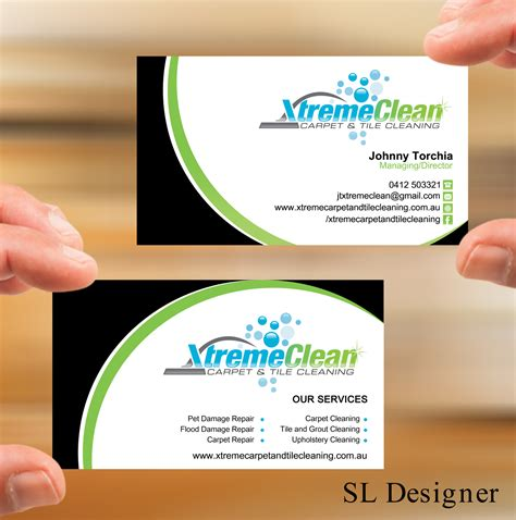 damage business card template inspirational collection of cleaning service business