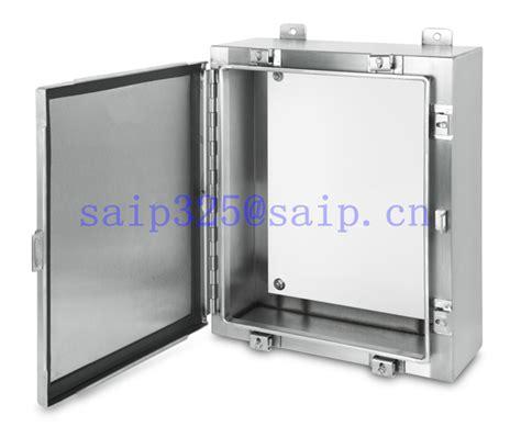 Box Panel Stainless Steel Custom saip saipwell waterproof stainless steel metal sheet
