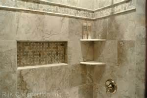 bathroom tile shelves ceramic tile tub surround ideas corner shelves