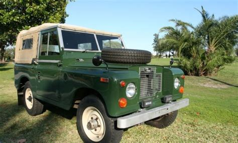 1970 land rover for sale for sale 1970 land rover series ii convertible classic