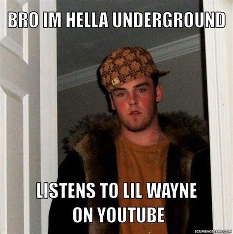 Hella Funny Memes - lil wayne underground