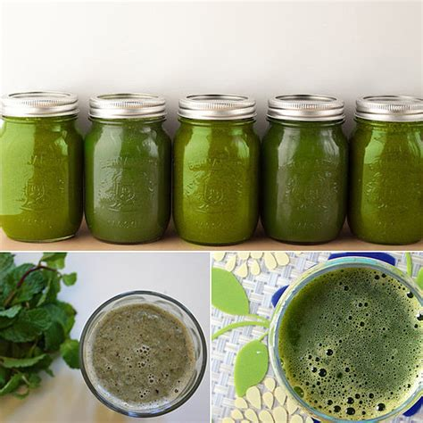 green juice and smoothie recipes popsugar fitness