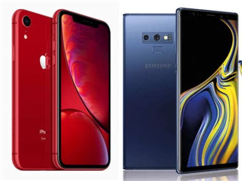 apple apple iphone xr rs   samsung galaxy note