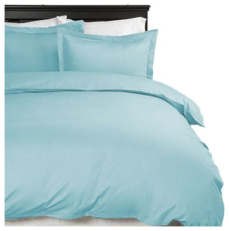 home collection ultra soft luxury duvet set aqua twin