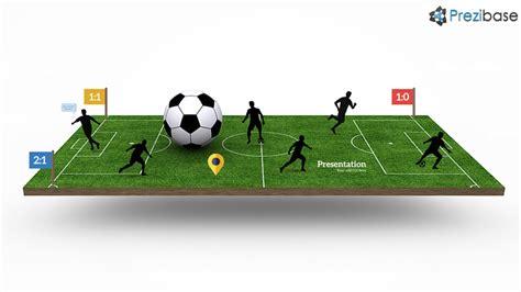 Football Pitch Prezi Template Prezibase Prezi Pitch Templates