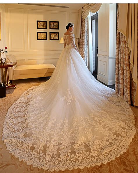 Cathedral Wedding Dress by Buy Gorgeous Wedding Dress 2017 Cathedral Royal