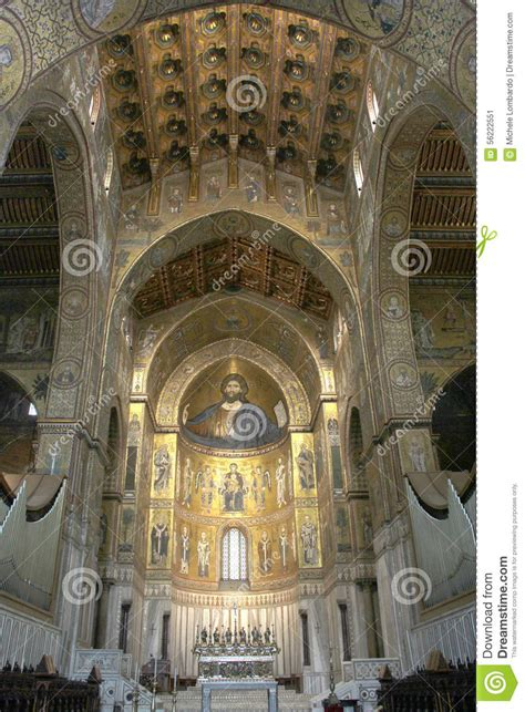 the time traveler s guide to norman arab byzantine palermo monreale and cefalã books interiors of the monreale cathedral in sicily royalty free