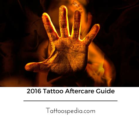 tattoo aftercare 2017 aftercare guide how to care for your new ink