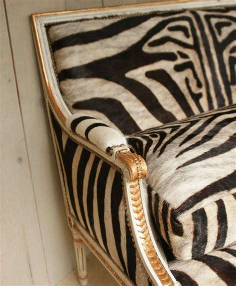Zebra Settee fabulous louis xvi giltwood settee with zebra upholstery at 1stdibs