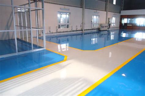 High Chemical Resistant Epoxy Coating, Pu Flooring And
