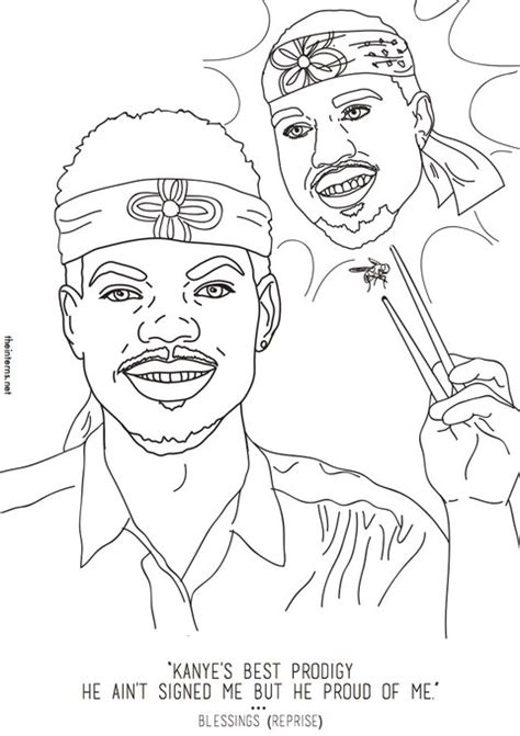 coloring book chance the rapper lyrics chance the rapper s coloring book inspired an actual