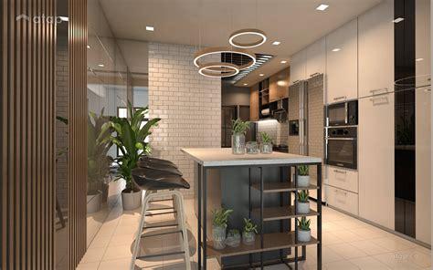 rustic scandinavian kitchen bungalow design ideas